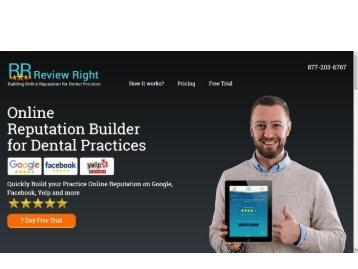 Online Software for Reputation Management in Dental Practices