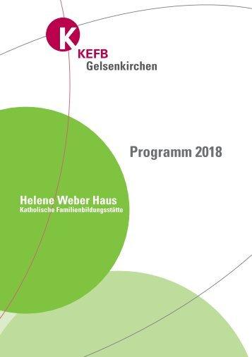 Gelsenkirchen @KEFB Bistum Essen Programm 2018