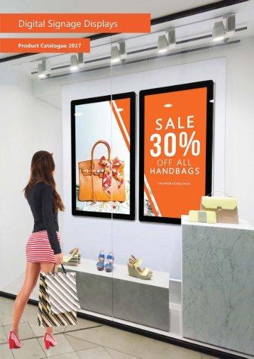 Digital Signage Brochure 2017