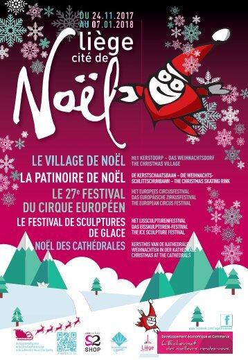 Brochure Cité de Noël 2017