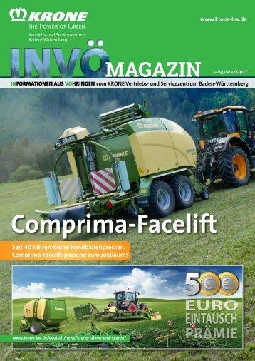 KRONE INVÖ Magazin Ausgabe 12/2017