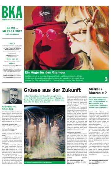 Berner Kulturagenda 2017 N° 46