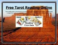 Free Tarot Reading Online