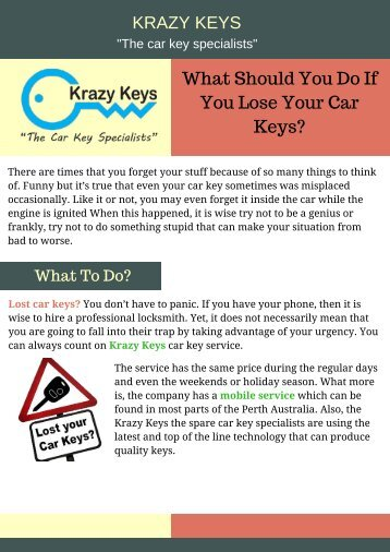 how to get in your car without keys
