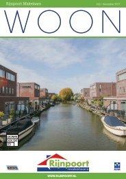 Rijnpoort Makelaars WOON magazine #42, uitgave december 2017