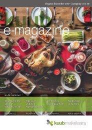 Kuub E-magazine #39, jaargang 5, december 2017