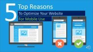The Need To Optimize Your Website for Mobile Use