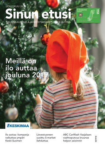 Sinun etusi joulukuu – Keskimaan ajankohtaisia uutisia ja etuja 12/17