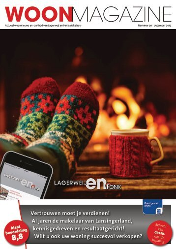 Lagerweij en Fonk Makelaars Woonmagazine, #20, december 2017