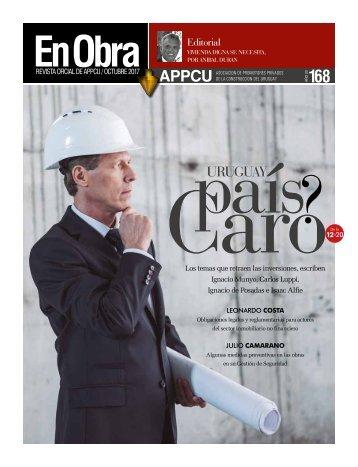 Revista En Obra 168 - octubre 2017