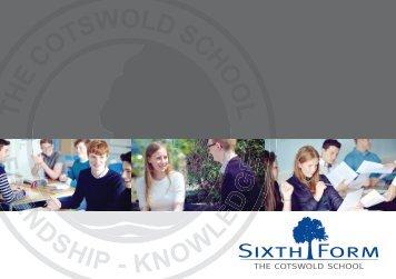2017-2018 Sixth Form Prospectus
