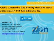 Automotive Hub Bearing Market