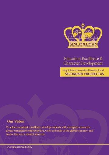 Secondary Prospectus Print 2017 steve 3