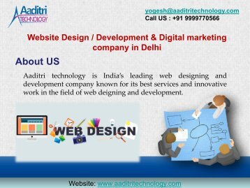 Best Website Design & Development Company in Delhi, India