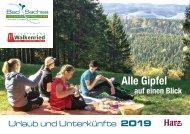 Urlaubsmagazin 2019 Bad Sachsa