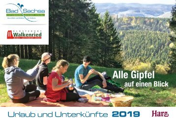 Urlaubsmagazin 2018 Bad Sachsa
