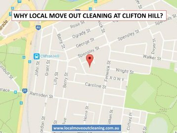 Why Local Move Out Cleaning At Clifton Hill?