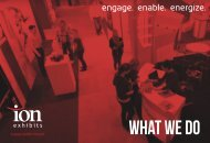 Ion Exhibits - What We Do - 2018