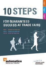 automatica 2018 // 10 steps for guaranteed trade fair success