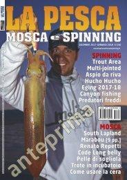 La Pesca Mosca e Spinning 6/2017