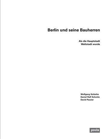 Berlin und seine Bauherren – Als die Hauptstadt Weltstadt wurde