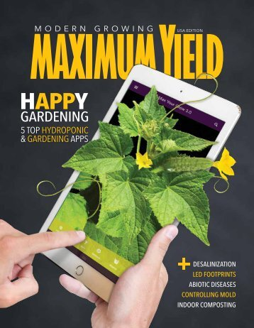 Maximum Yield Modern Growing | USA Edition | May 2017