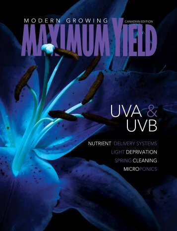 Maximum Yield Modern Growing | Canadian Edition | May June 2017