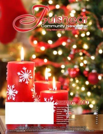 Fulshear December 2017