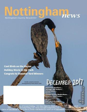Nottingham December 2017