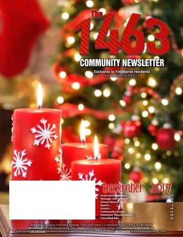 The 1463 December 2017