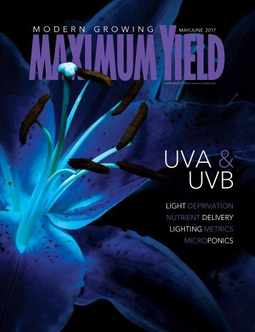 Maximum Yield Modern Growing | AUS NZ Edition | May June 2017