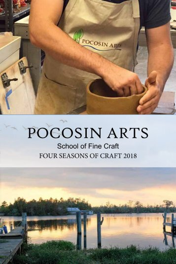 PocosinArts_2018Workshops