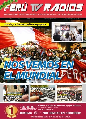 REVISTA PERÚ TV RADIOS NOV - DIC 2017