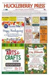 Huckleberry Press 111617