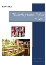 Revista Panadería y lácteos San Mateo