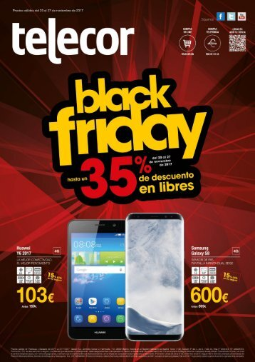 Telecor Revista Black Friday hasta 27 de Noviembre 2017