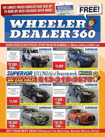 Wheeler Dealer 360 Issue 47, 2017