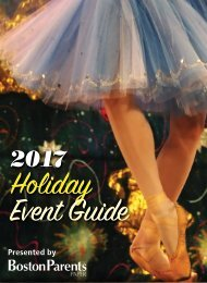 Holiday Event Guide Boston 2017