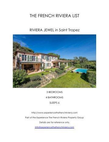 Riviera Jewel - Saint Tropez