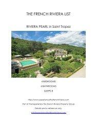 Riviera Pearl - Saint Tropez