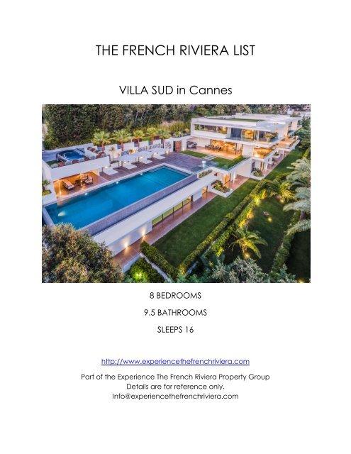 Villa Sud - Cannes