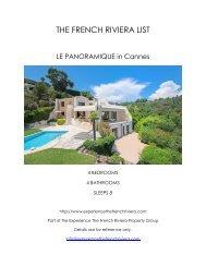 Le Panoramique - Cannes