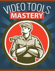 Video Tools Guide - What Are Video Tools