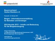 EEG-Novelle 2012 - bauernverband-uer.de