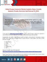 Torque Converter Market | Share, Size, Trends, Growth and Analysis