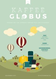 Kaffee Globus - Ausgabe 4