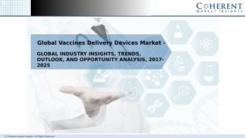 Vaccines Delivery Devices MVaccines Delivery Devices Market - Global Industry Insights, and Opportunity Analysis, 2025arket