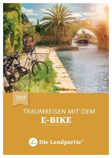 Geführte E-Bike-Reisen 2018 Die Landpartie