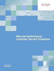 CRM Web Customer Service Application Framework, 2012 - Avaya