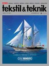 Tekstil Teknik Dergisi Kasım 2017 Sayısı